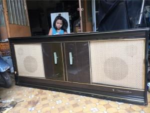 Tủ âm thanh cổ Đức Grammophon