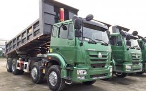 Ben Howo 4 chân SinoTruk TMT SI336 máy 336HP thùng vuông 17 tấn