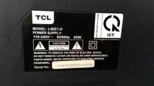 Smart tivi 40in TCL