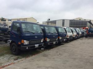 Bán xe tải Hyundai Mighty HD800,thùng dài 5m,tải 8t