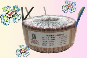 BACL XUYẾN 4 kva, hàng đặt riêng cho Audio, có màng chắn tỉnh điện , phe Mỹ, dây đồng Nhật, điện vào 220v, điện ra 100v,115v, 220v