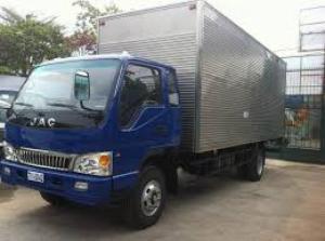 xe tải jac 6 tấn, tải trọng cao, hỗ trợ 100% trước bạ
