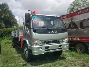 Xe tải jac 8t5 gắn cẩu unic 3t5 hỗ trợ trả góp giá tốt
