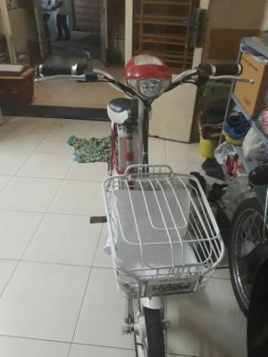 Xe đạp điện HK bike pin thế hệ mới.