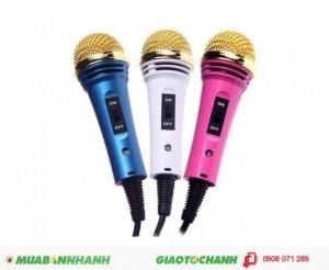 Mic Karaoke Điện Thoại Loại Lớn