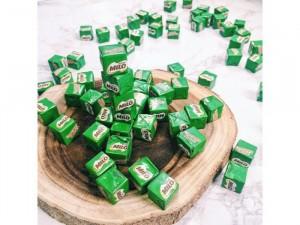 Milo cube và milk cube