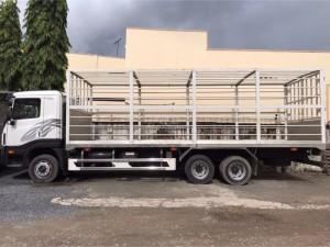 Xe tải Daewoo 15 tấn chở gà vịt mới 100%