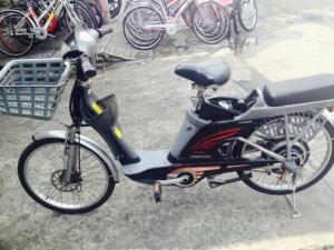 Xe đạp điện Asama AFG,thắng đĩa,chính hãng