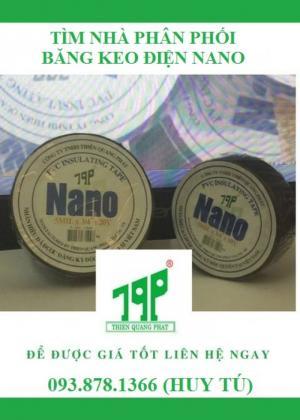 Cần Tìm Đại Lý Phân Phối Băng Keo Điện Nano Tqp