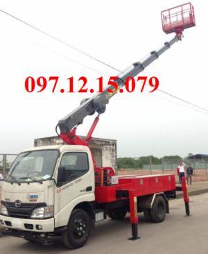 xe tải hino nâng người chất lượng tốt