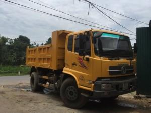 Cần bán xe tải ben Hoàng Huy 8 tấn nhập khẩu đời 2010 đến 2015
