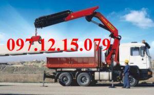 xe tải  gắn cẩu palfinger đã khảng định chất lượng trên toàn thế giới