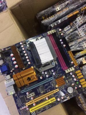25 Combo Main HZ02 + Amd athon X4 630, X4 635 full cổng ăn chơi, kèm fan zin...
