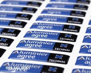 In Sticker, Tem bảo hành, Tem barcode số lượng ít