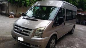 Ford Transit Standard MID 16 chỗ, sản xuất 2013, Màu Ghi Hồng