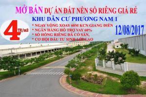 Bán đất Thổ Cư Sổ Hồng riêng, ngay KCN Giang Điền.