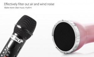 Sử dụng micrô chất lượng cao hiệu quả lọc không khí và tiếng ồn gió