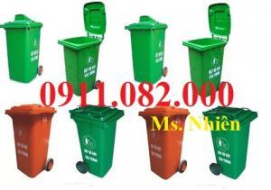 Bán thùng rác 120 lít, 240 lít giá rẻ- thùng rác hình thú mẫu mã đẹp giá thấp