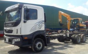 Xe daewoo prima 3 giò rút 13,7 tấn