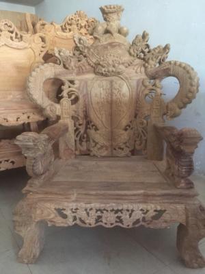 Bộ bàn ghế Chạm Rồng đỉnh cực VIP