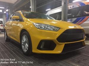 Khuyến Mãi Mua xe Ford Focus Trend, màu vàng, số tự động, vay trả góp chỉ 150 triệu, giao xe tháng 08/2017