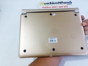Khe cắm chuẩn iPad. Bàn phím Bluetooth Note Kee F17 là rất dễ dàng lắp đặt iPad Air và gập gọn gàng tạo thành 1chiếc Ultrabook.