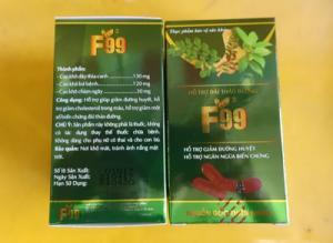 Bán sản phẩm F99- Giúp ổn định đường huyết, giảm cholesterol
