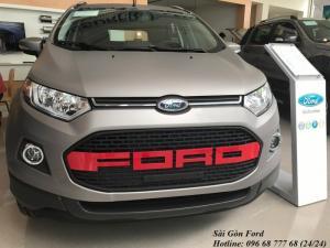 Ford Ecosport 2017 số tự động, phiên bản sơn nhám mới chỉ có tại Sài Gòn Ford
