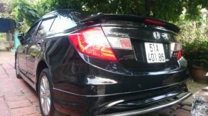 Bán Hoda Civic 2.0AT màu đen đời 2013 phiên bản cao cấp