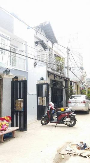 Bán nhà hẻm 1886 Huỳnh Tấn Phát, dt 4.8x12, hẻm xe hơi