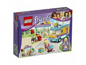 Hộp LEGO Friends Dịch Vụ Giao Hàng