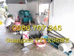 Máy ép dầu wuangxin yzyx95wk , máy ép dầu công nghiệp giá rẻ