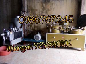Máy ép dầu lạc Wuangxin YZYX90WK , máy ép dầu chính hãng giá rẻ đây