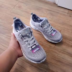 Giày Thể Thao Skechers Nữ Xám