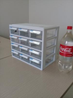 Tủ đựng linh kiện 12 ngăn Hàn Quốc