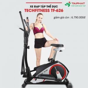 xe đạp tập thể dục Tech Fitness TF-626 sẽ hỗ trợ cho bạn tập thể dục ngay tại nhà. Với thiết kế thông minh, tính năng hữu hiệu, xe đạp tập TF-626 giúp mang lại hiệu quả giảm cân, tăng cường sức khỏe, f5 tinh thần ngay tại nhà cho bạn.