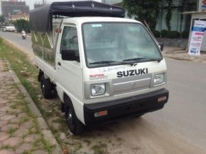 Cần bán xe Suzuki Super Carry Truck thùng kín, thùng lửng, thùng mui bạt đời 2017, màu trắng