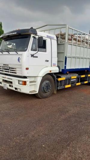 Tải thùng Kamaz 15 tấn cũ | Bán xe tải thùng Kamaz 3 chân 2015 cũ