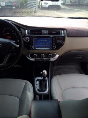 Bán Kia Rio 1.4AT sedan nhập Hàn Quốc 2015 số tự động màu trắng