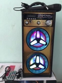 Loa karaoke - loa bluetooth karaoke mini tặng miicro