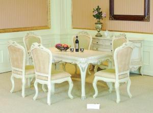 bàn ăn cổ điển châu âu