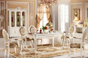 bàn ghế cổ điển châu âu