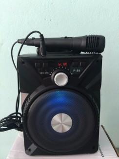 Loa Karaoke - Loa bluetooth P 86,87,88,89 tặng kèm mic