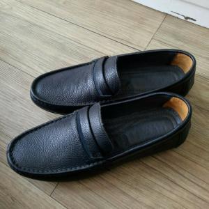 Giày lười Geox (Giày biết thở) đen