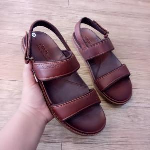 Giày Sandal Đen Ymt Fashion Nâu (Xuất Nhật)