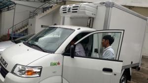 Suzuki Pro 750kg thùng đông lạnh tại Kiên Giang