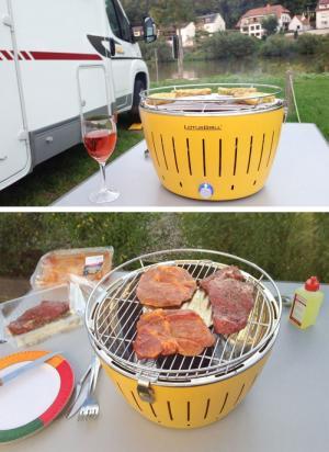 Bếp nướng than ho BN02, bếp nướng mini cho gia đình