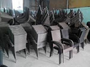 Nội thất Hồng gia Hân, Cần thanh lý bàn ghế cafe nhựa giả mây giá rẻThanh lí gấp 25 bộ ghế gỗ xếp hàng mới
