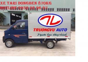 Bán xe Dongben 900kg, trả góp trả trước 30 triệu