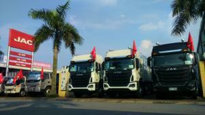 Showroom xe tải JAC chi nhánh Hà nội